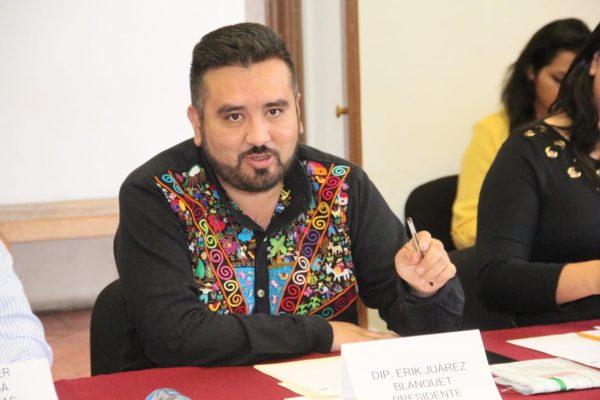 Se instaló la Comisión de Puntos Constitucionales que preside Erik Juárez