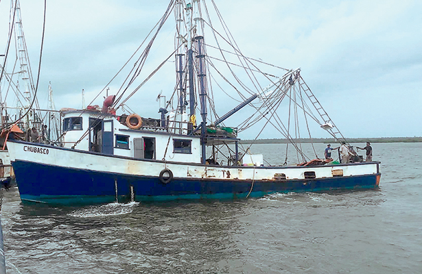 Al alza, el robo a barcos camaroneros