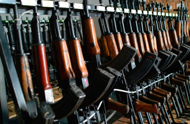 En México existen 20 millones de  armas de fuego sin permiso
