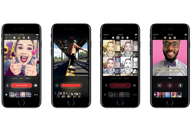 """Conoce Clips, """"el nuevo Snapchat"""" de Apple para iPhone"""