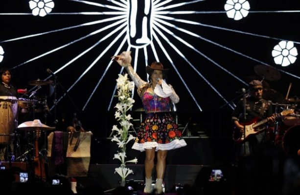 Lila Downs presente en el Royal Festival Hall de Londres