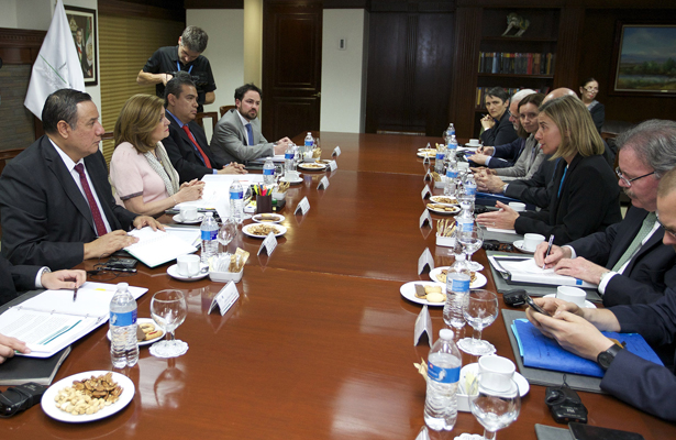 PGR se reúne con integrantes de la Unión Europea