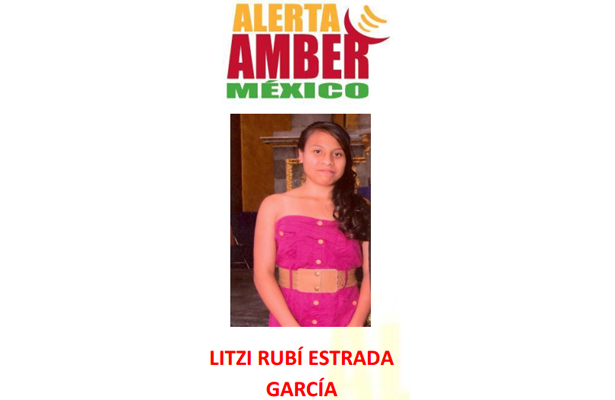 Alerta Amber México, desaparece adolescente