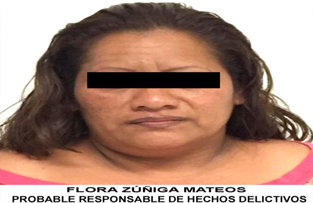 Mujer intenta meter droga a un reclusorio, es detenida