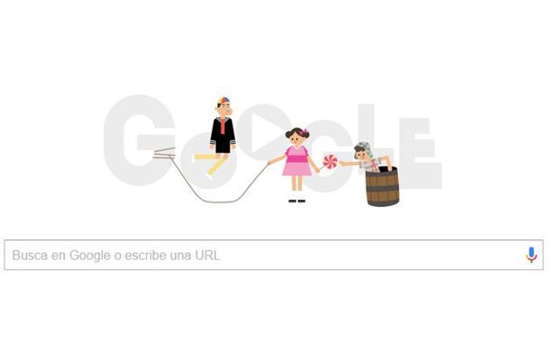 Google dedica su doodle al Chavo del 8