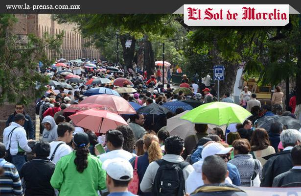 Marcha CNTE este martes en 22 regiones de Morelia