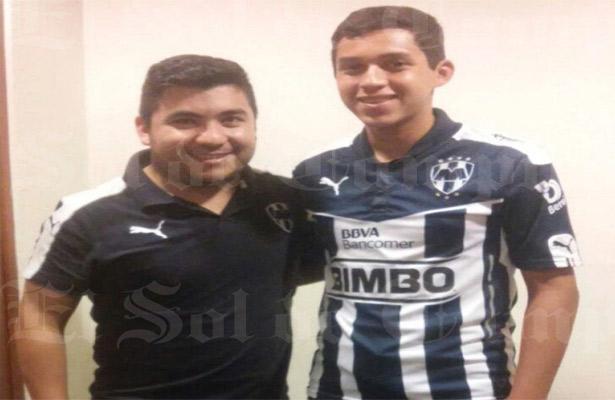 Joven portero tampiqueño contratado por el Monterrey