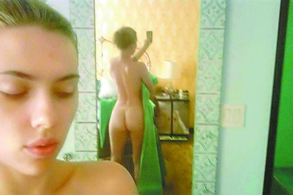 En redes sociales, más fotos de Scarlet Johansson desnuda