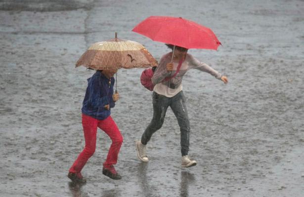 Valle de México mantiene potencial de lluvias vespertinas