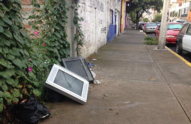 México genera hasta 180 mil toneladas de residuos electrónicos