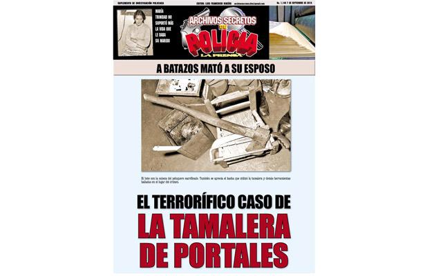 EL TERRORÍFICO CASO DE LA TAMALERA DE PORTALES