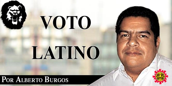 ¿Y el voto latino?