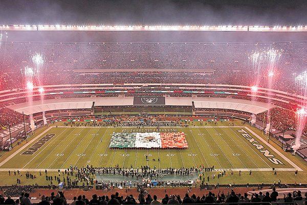 El regreso de la NFL a México los Raiders ganaron a los Texanos c862019c040