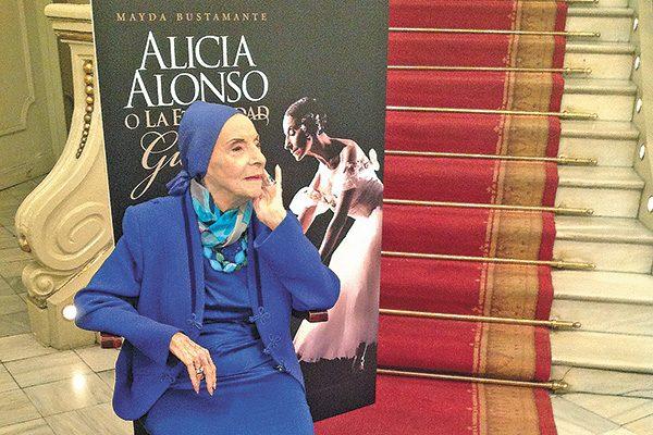 Fiesta para Alicia Alonso, primera bailarina cubana