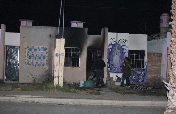 Incendio mata a ancianita en Aguascalientes