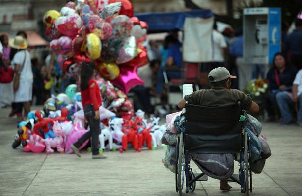 México conmemora a personas discapacitadas