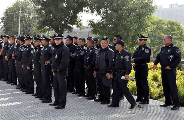 Autoridades sancionan a 264 elementos de policía en lo que va de 2016