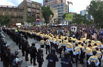 Vialidad en CDMX afectada por movilizaciones
