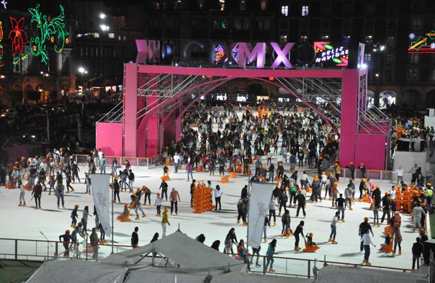 Invita Gobierno de CDMX disfrutar de atractivos navideños