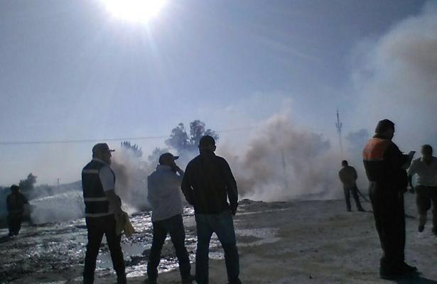 Atiende Profepa posible afectación ambiental derivada de incendio en Tekchem, Guanajuato