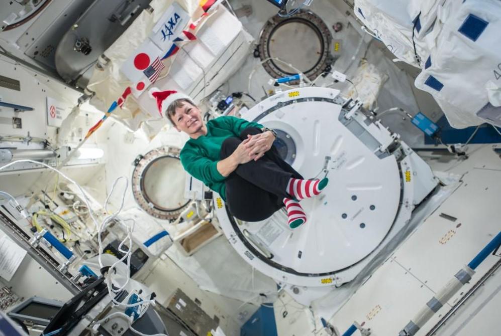 Llega la Navidad hasta la Estación Espacial Internacional