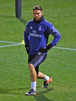 Sergio Ramos ya se vio