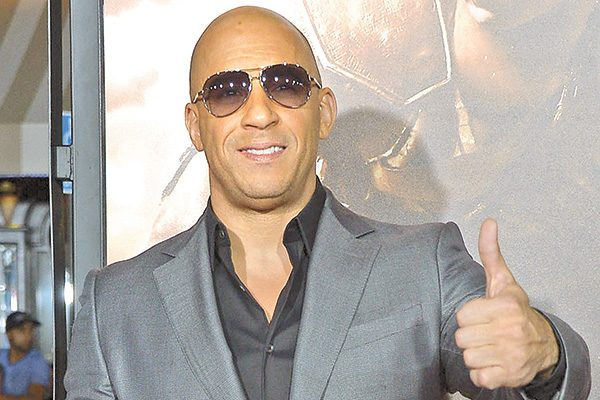 Vin Diesel viene a México