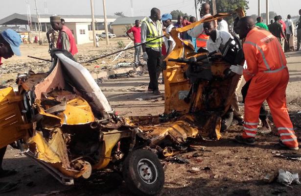 Al menos 45 muertos en un doble atentado suicida en Nigeria