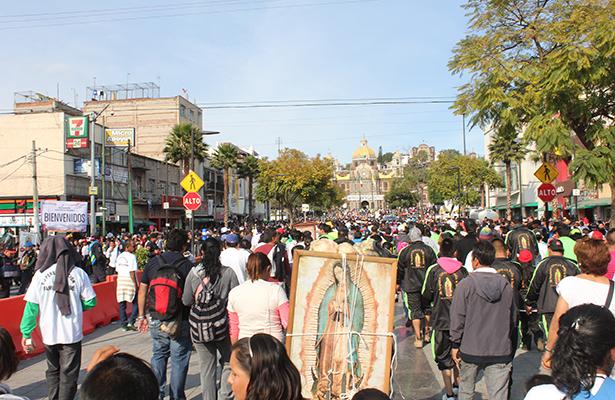 Marcha y peregrinos desquiciarán la Ciudad de México