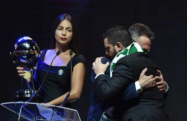 El Chapecoense recibe Copa Sudamericana