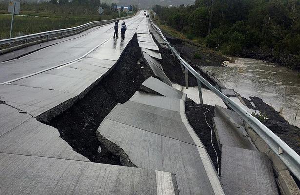 Levantan alerta de tsunami por terremoto de magnitud 7,6 en Chile