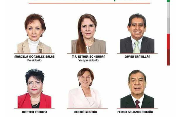 Integra Noemí Guzmán Lagunes Comité de Ética en Cámara de Diputados