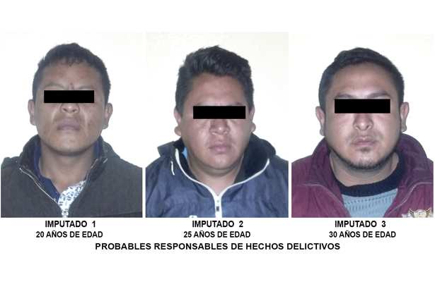 Sujetos roban autopartes, en Iztapalapa