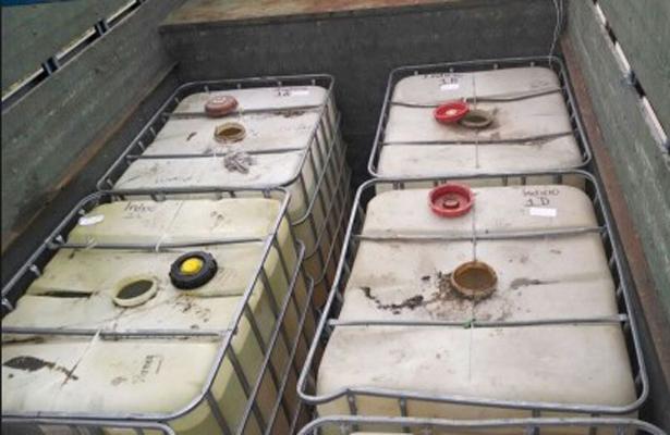Asegura PGR cerca de 7 mil litros de hidrocarburo, en Veracruz