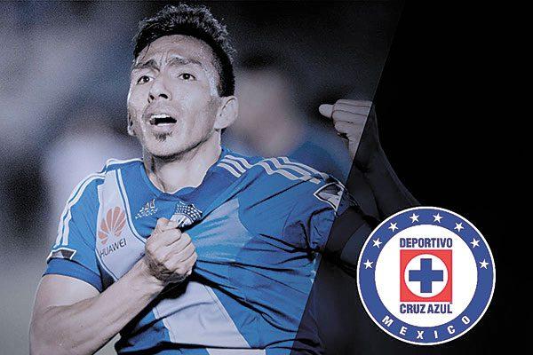 Ángel Mena, primer refuerzo de Cruz Azul