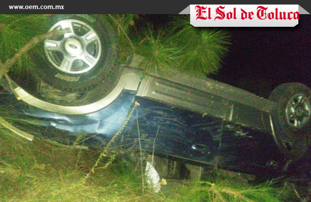 Se volcaron militares en Cd. Altamirano, Toluca