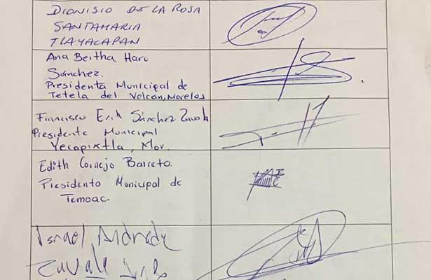Alcaldes se solidarizan con Cuauhtémoc por la autonomía