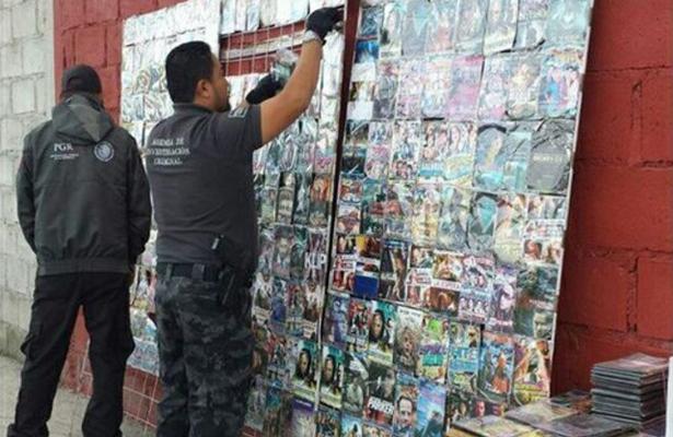 Retira PGR material falsificado durante un operativo en el estado de Hidalgo