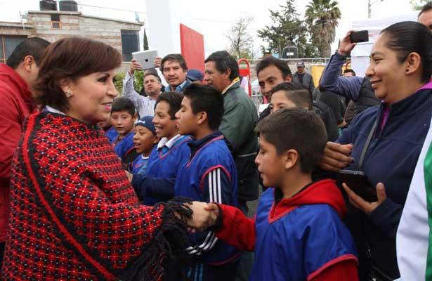Los niños mexicanos jugarán seguros en nuevos centros públicos: Rosario Robles