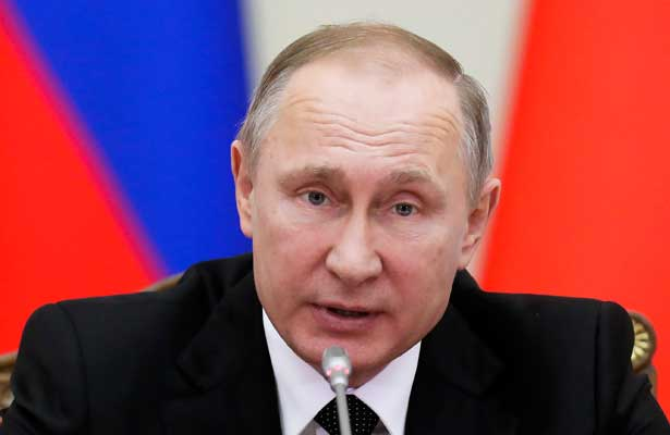 Putin declara luto nacional por accidente de avión
