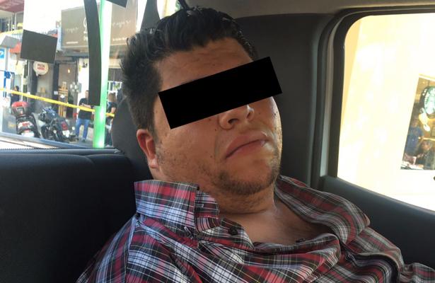 Policía de Naucalpan detiene a sicario