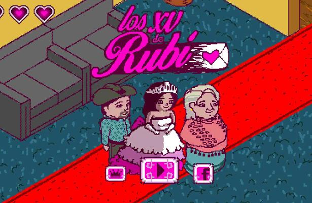 XV años de Rubí, ya tienen videojuego