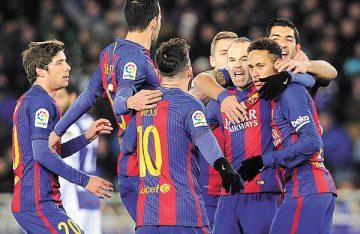 Barça vence a sus demonios, en Anoeta
