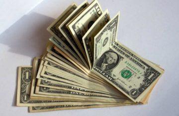 Dólar cede 17 centavos y se vende en $22.04