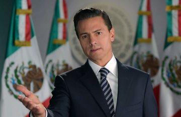 """El presidente Peña Nieto, """"felicitó a Donald Trump por su toma de posesión"""