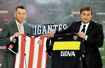 "Chivas Vs. Boca; ""Duelo de Gigantes"""