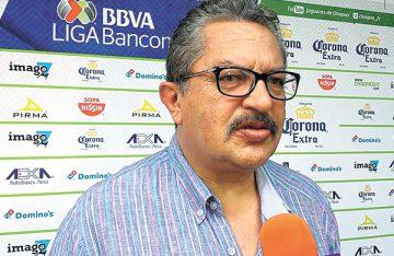Hugo no ha preguntado por el Puebla: Chargoy