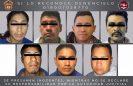Por los delitos de homicidio, violación y robo con violencia