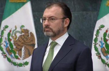 Videgaray convoca a rechazar discursos de odio