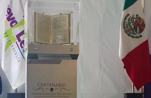 Constitución de 1917, vigente como expresión de la soberanía y la autodeterminación nacional